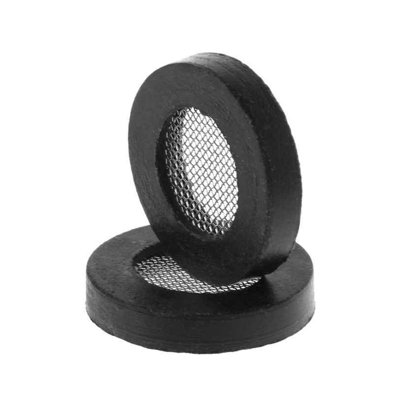 10 pièces/ensemble joints toriques en caoutchouc avec filet de tête de douche filtre tuyau joint rondelles pour pomme de douche entrée tuyau robinet pièce de rechange