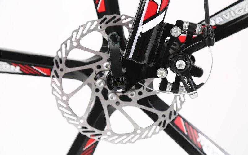 HTB19F8qXgfHK1Jjy1zbq6yhRFXaZ 26 inch mountain bike 21 speed Folding mountain bicycle double disc brake bike New folding mountain bike Suitable for adults