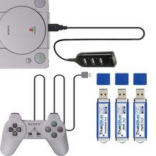 32Gb True Blue Mini Crackhead Meth Pack Game Enhancer Voor Playstation Klassieke Games & Accessoires 101 & 58 Games v1