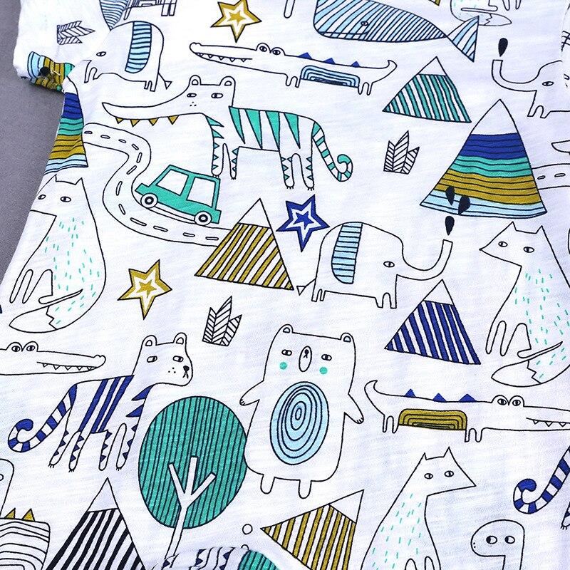 HTB19F8wXOYrK1Rjy0Fdq6ACvVXaC 2019 Cartoon Baby Onesies Summer Cotton Romper Boy Girls 0-24 Months Kids Clothes Knitted Cartoon Short-sleeved Jumpsuit Outfits