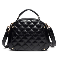 Classy Round Quilted Bag Women Box type Stylish Shoulder Bag Classic Diamond Lattice Small Crossbody Bag