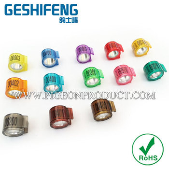 netherland ring bands for 2016 new custom pigeon ring bands for baby pigeons for racing
