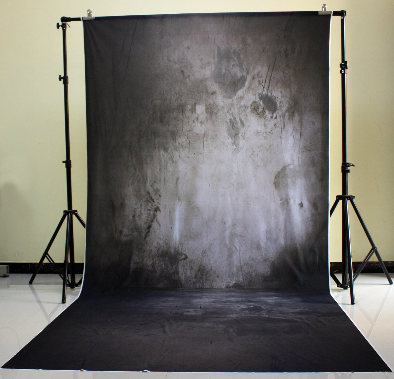 150x300cm Cotton Polyester Dark Deep Color Background Christmas Party Children Photo Black shaded wall XT-3033 deep dark brunette