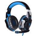 Nueva each g2000 pc gamer casque stereo gaming auriculares de reducción de ruido de alta fidelidad de sonido 2.2 m luces deslumbran juego brillo música auricular