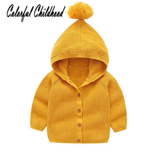 5276fd9f9 Warm children clothes winter cotton knitting handmade sweater for ...