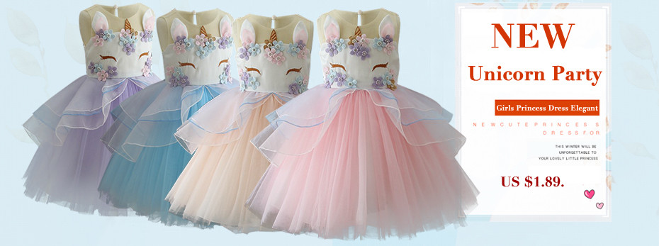 f368507197bac Girls Dress Children Clothing Princess Summer Party Kids Dresses For Girls  Costume For Kids Wedding Dress 3 4 5 6 7 8 9 10 Years