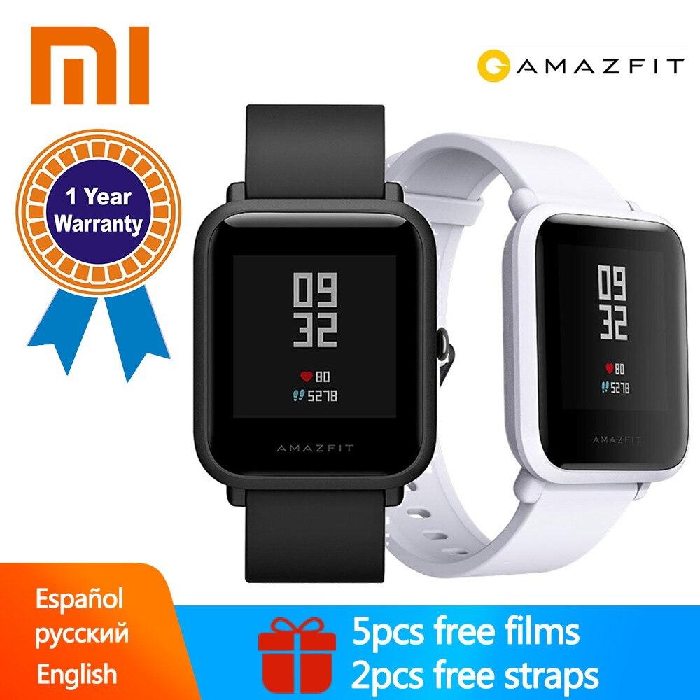 Mondial Version XIAOMI Huami Amazfit Bip Smart Montres GPS Gloness Smartwatch IP68 Coeur Taux 45 Jours Veille pour Téléphone MI8 IOS