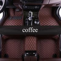 kalaisike Custom car floor mats for Ford All Models F 150 focus Explorer Edge Mustang kuga ecosportcar fiesta car accessories
