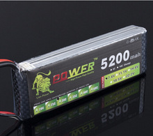 LION POWER Lipo Battery 7 4v 2S 5200mAh 25C Lipo Battery RC Helicopter RC Car Boat
