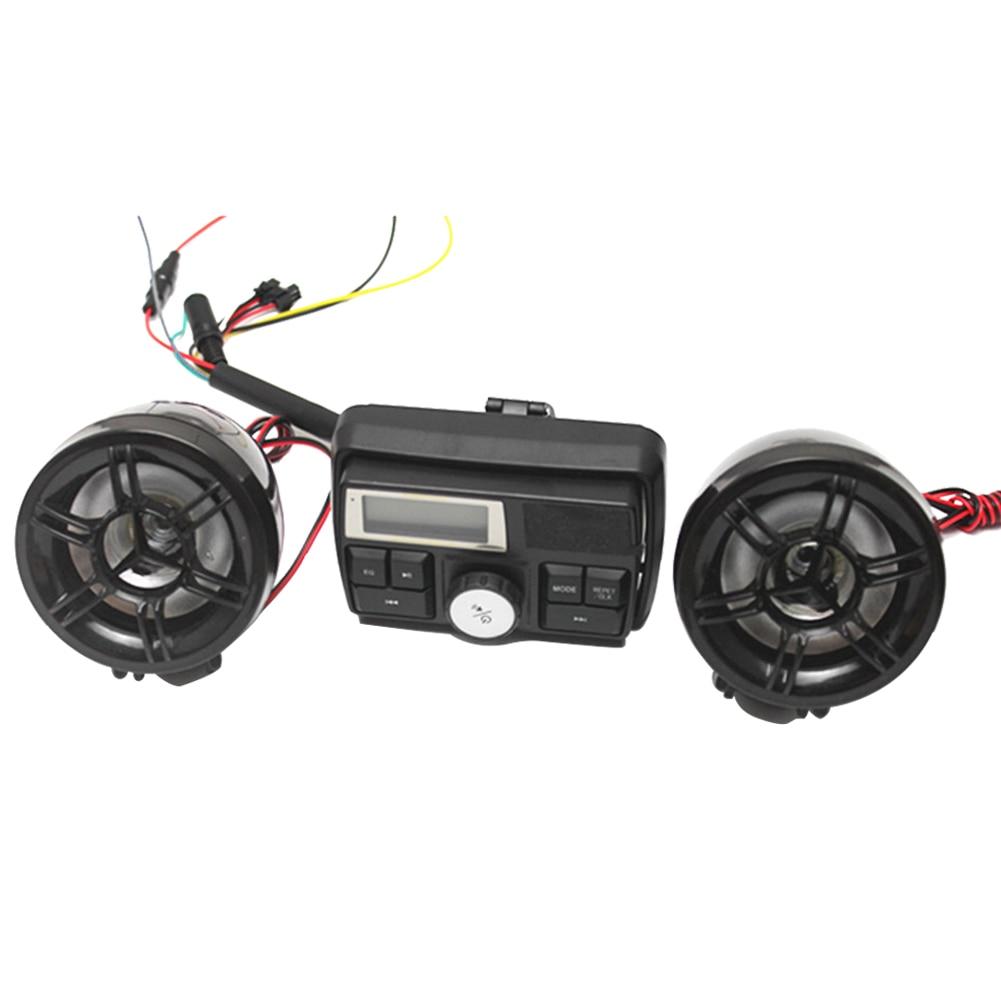 Alarm motocyklowy Wodoodporny system dźwiękowy Radio FM Wzmacniacz - Akcesoria motocyklowe i części - Zdjęcie 2