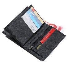Casual Designer PU Leather Men Mini Wallet Slim Wallet Male