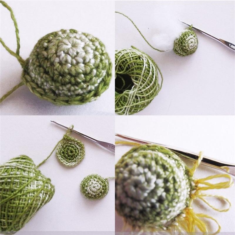 Looen 12pcsset Small Size Crochet Hooks Set Mix Sizes 0.6-1.9mm Knitting Needles For Yarn Weave Tools Lace Crochet Needles Set (4)