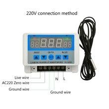 XH-W3103 AC 220V Max 6600W Digital Thermostat 30A Temperature Controller Switch-831F