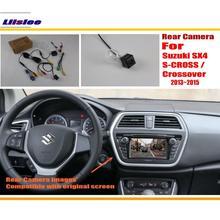 Liislee Back Up Reverse Camera Sets For Suzuki SX4 S-CROSS / Crossover 2013~2015 / RCA & Original Screen Compatible