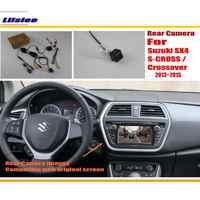 Liislee a cámara inversa establece para Suzuki SX4 S-CROSS/Crossover 2013 ~ 2015/RCA y Original de la pantalla compatible