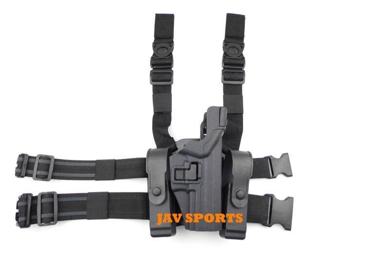 Level 3 Serpa Holster USP Tactical Drop Leg Holster W/ Platform Tactical Holster+Free shipping(SKU12050496) glock pistol holster serpa light bearing holster set glock 17 19 22 23 31 32 compact rh drop leg glock holster