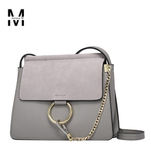 Bohemian Metal Circle Napa Nubuck Genuine Leather Handbags Lady Shoulder Bags Famous Brand Designer Crossbody Bags Day Clutches