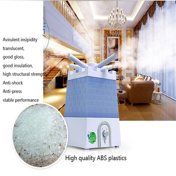 8.8L High Capacity Air humidifier essential oil diffuser ultrasonic anion cool mist Ultra-quiet humidifier 1pc