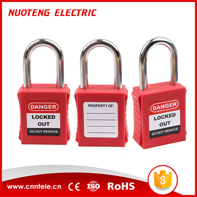 Loto 38mm Color Different Security Lock Safety Padlock In