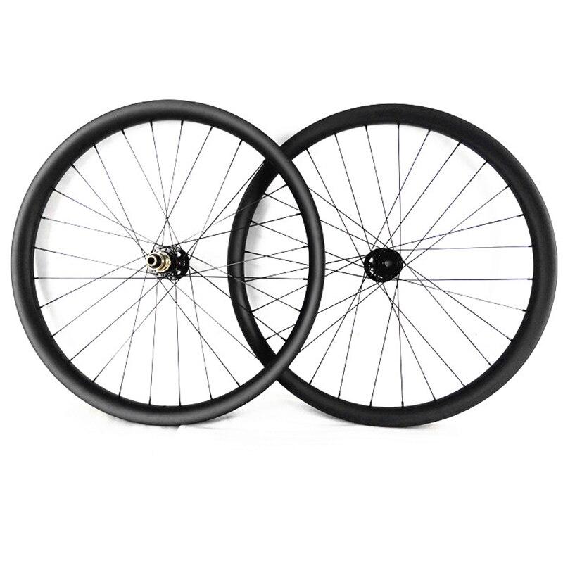 Rodas de bicicletas mtb 27.5er 40X30mm 650B impulso 148x12mm 110x15 milímetros de carbono mtb rodado novatec hubs disco Montanha bicicleta MTB rodado