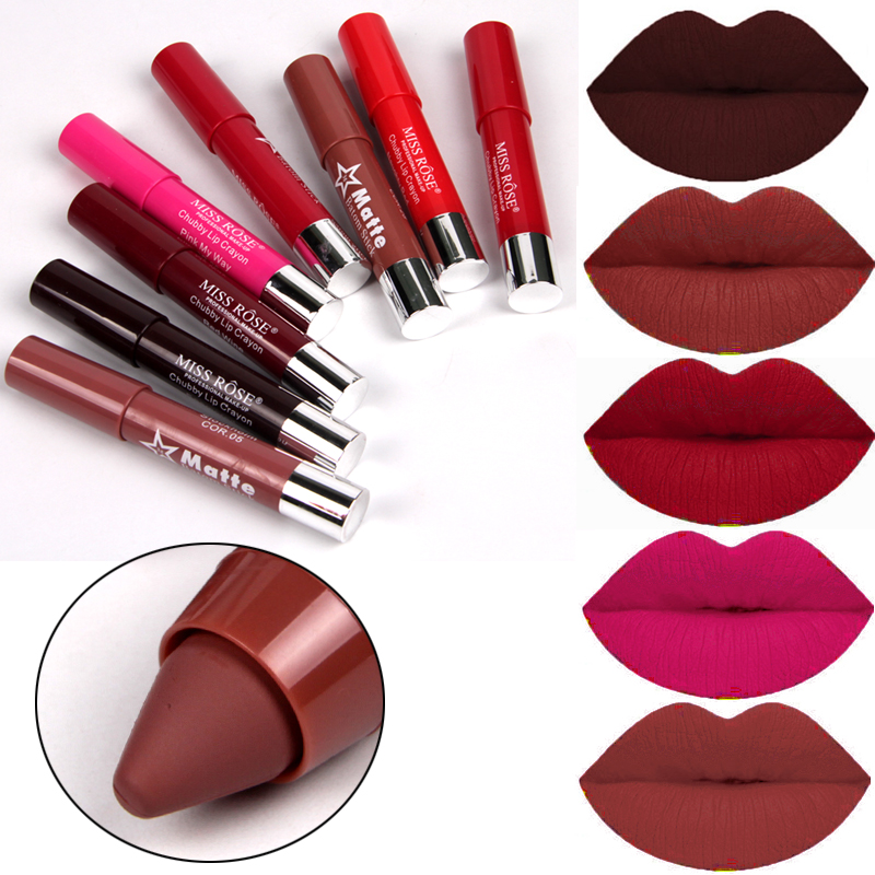 Hot Makeup Beauty Colors Red Velvet Matte Lipsticks Batom For Women Waterproof Long Lasting Easy To Wear Matte Lips Cosmetics
