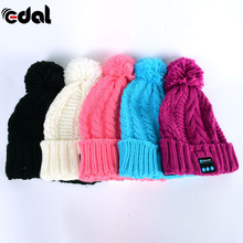 Winter Hands Free Smart Cap Warm Beanie Hat Bluetooth ear-phone Headset Speaker Mic for Outdoor Activity