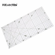 Drawing Ruler 30x15cm Patchwork Ruler High Grade Acrylic Material Transparent Ruler Scale Office School Line Drawing