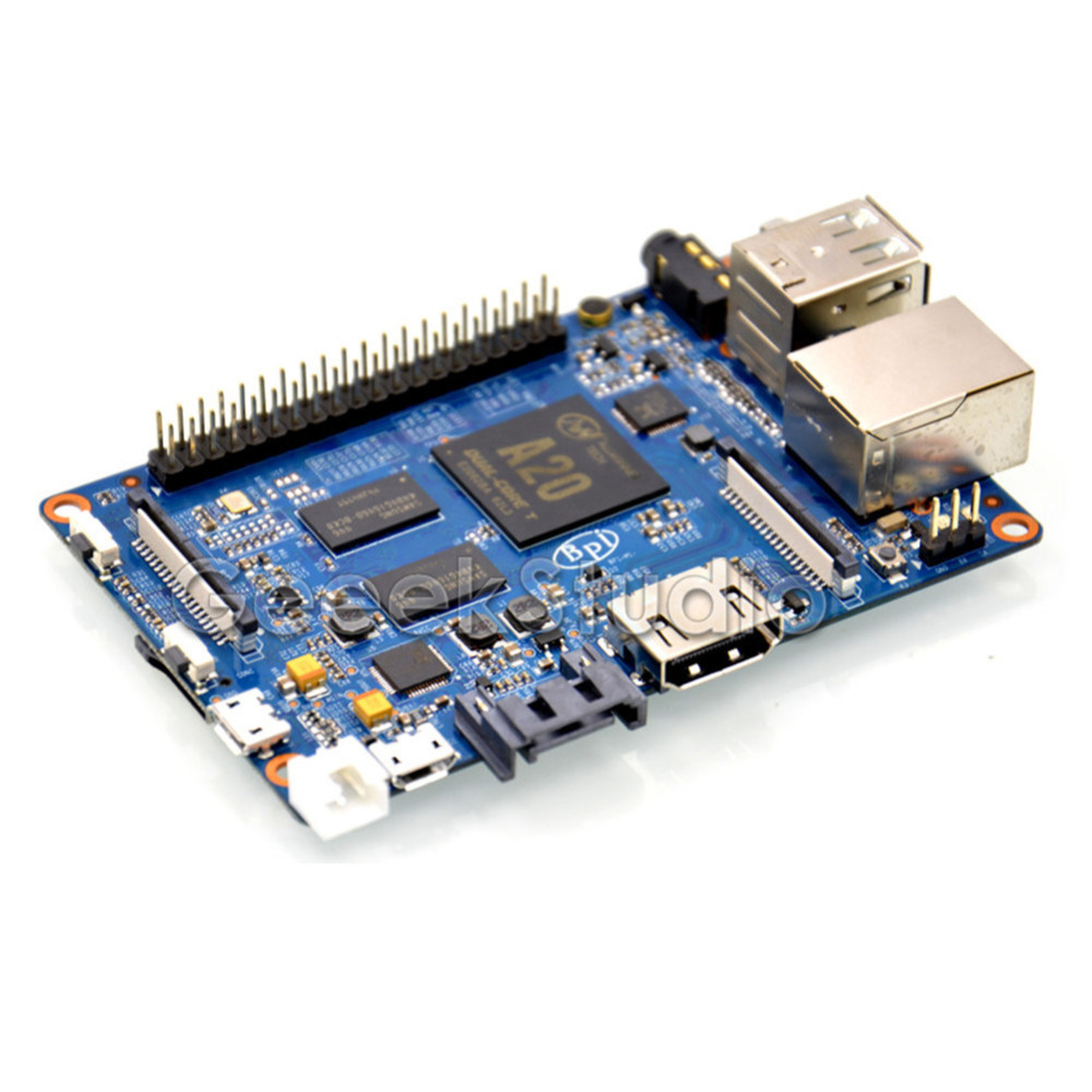 Banana Pi M1+ Plus BPI-M1+ Dual Core A20 1GB RAM on-board WiFi Open-Source Singel-Board Computer SBC цена
