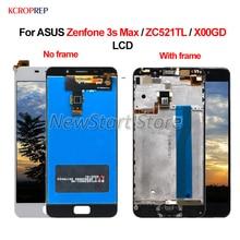 ЖК дисплей для ASUS Zenfone 3S Max ZC521TL, сенсорный экран с дигитайзером в сборе, 100% новый 5,2 дюйма для ASUS Zenfone 3S Max X00GD ЖК дисплей