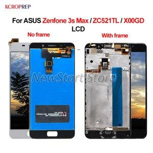 Image 1 - ЖК дисплей для ASUS Zenfone 3S Max ZC521TL, сенсорный экран с дигитайзером в сборе, 100% новый 5,2 дюйма для ASUS Zenfone 3S Max X00GD ЖК дисплей