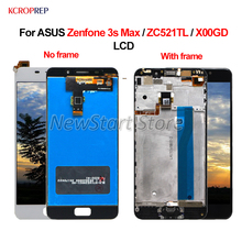 "ASUS Zenfone 3S Max için ZC521TL LCD ekran dokunmatik ekran Digitizer meclisi 100% yeni 5.2 ""ASUS Zenfone 3S Max X00GD lcd"