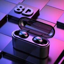 Dikdoc Bluetooth наушники вкладыши handfree HiFi высокое качество звука беспроводные наушники mega bass 1500mAh power box TWS earhone