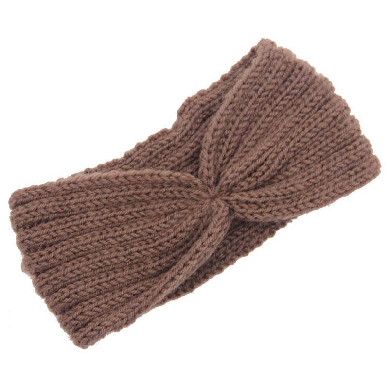 Großhandel frauen Gestrickt Breite Strickstirnband Haarband ...