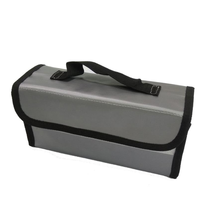 Hot! LiPo Li-Po Battery Fireproof Safety Guard Safe Bag 220*100*75MM 100% brand new and high quality Y7811