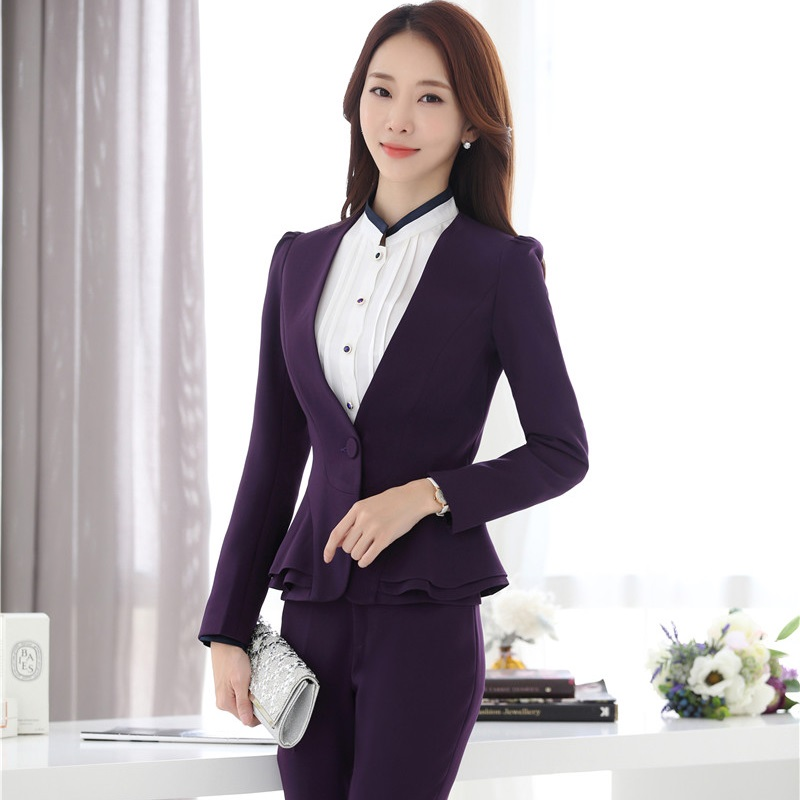 Blazers Women Blazer Work Blue Plus Size Slim Fit Female Blazer And Jackets White 4xl Fashion Single Button Ol Style Office Suits Ma119 Professional Design