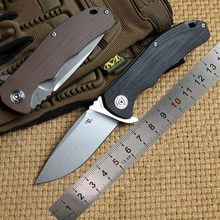 CH3504 Folding Knife Stone Wash D2 Blade G10 handle Camping outdoor knife Hunting Survival Tactical pocket Knives EDC hand Tools цена в Москве и Питере