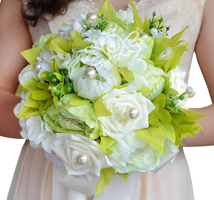 Silk Wedding Flower Bouquets Online Flowers Ordering On