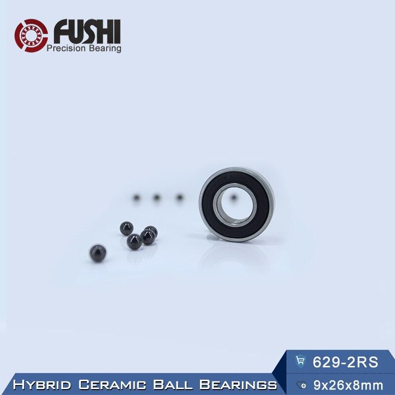 629 Hybrid Ceramic Bearing 9*26*8 mm ABEC-1 ( 1 PC) Industry Motor Spindle 629HC Hybrids Si3N4 Ball Bearings 3NC 629RS 6305 hybrid ceramic bearing 25 62 17 mm abec 1 1 pc industry motor spindle 6305hc hybrids si3n4 ball bearings 3nc 6305rs