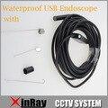 Alta Resolução de 2MP USB Endscope À Prova D' Água 9mm Inspeção Cam 1600x1200 USB Inspeção Endoscópio IC5H