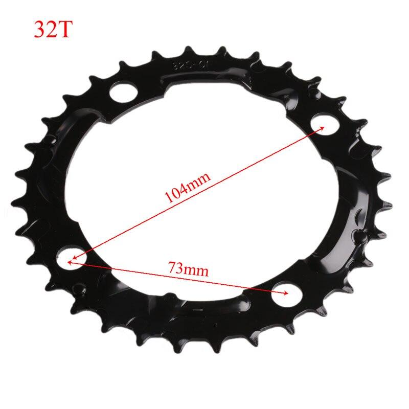 Купить с кэшбэком MTB Bike Bicycle Chain Ring Chainring 22T/32T/42T/44T For SHIMANO Crankset New
