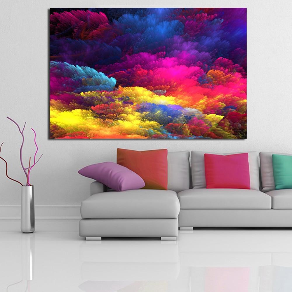 Splash Colorful Room Wall