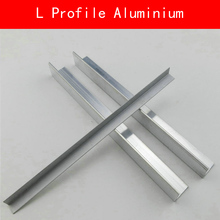 цена на Type L Profile Aluminium Sheet AL Plate DIY Material for Model Parts Accessories DIY Frame Metal Connector Construction