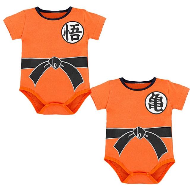 db45291e2222 Baby Clothing Dragon Ball Z Goku Newborn Baby Boy Girl Romper ...