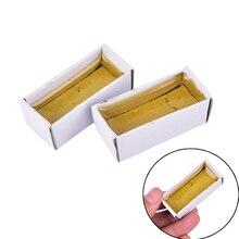 Carton solder Rosin Soldering Iron Soft Welding Fluxes 15g Solid Rosin Soldering Flux Paste High-purity Repair Durability стоимость