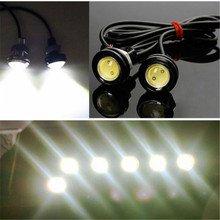 цена на LED DRL Eagle-Eye Auto Car Motorcycle Daytime Running Tail Light 10W DC 12V