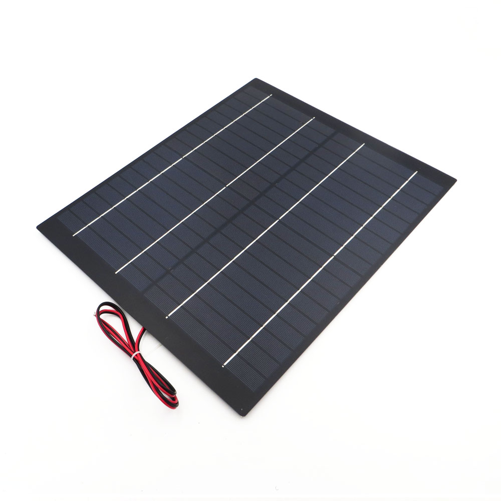 18V Solar Panel Mini PET polycrystalline 5W 10W 20W PV module cell charge for 12V battery Charger 5 10 20 watts W Watt 12v 24v 6gang blue led capacitive touch screen control switch panel box for car marine boat caravan yacht truck