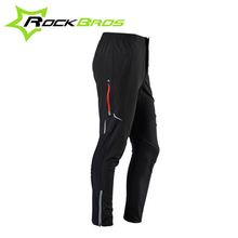 ROCKBROS Summer Bicycle Cycling Pants Breathable Quk Dry Outdoor Sports Bike Pants Multifunction Sportswear Reflective Tights
