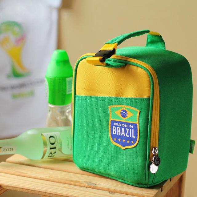 High Quality Fashion Storage Bags Oxford Cooler Bag Environmentally Green Thermal Bag Picnic  Lunch Box Mulitfunctional