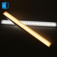 [DBF]27 LED Lights Energy Saving Auto Motion Sensor Wireless PIR Cabinet Kitchen Bedroom WardrobeIindoor Stair Wall Lamps