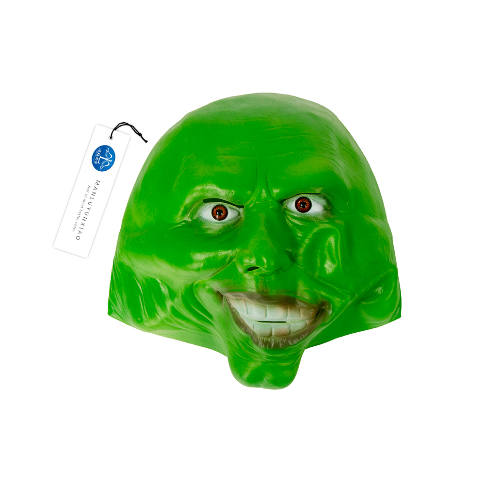 Aliexpress.com : Buy MANLUYUNXIAO Green Latex Mask Jim Carrey Mask ...